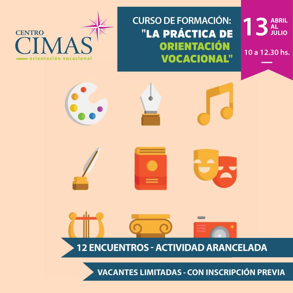 """Curso de formación: """"LA PRÁCTICA DE ORIENTACIÓN VOCACIONAL"""""""